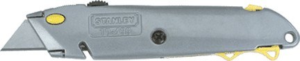 STANLEY TOOLS COMPANY QUICK CHANGE RETRACTABLE UTILITY KNIFE