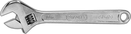 STANLEY TOOLS COMPANY 8'' ADJUSTABLE WRENCH