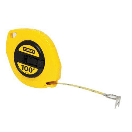 STANLEY TOOLS COMPANY 3/8''X100' YELLOW CASE LONG TAPE RULE