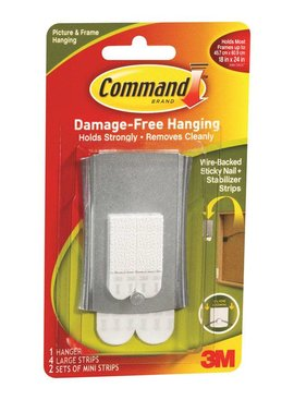 3M STICKY NAIL WIRE-BACK HANGER
