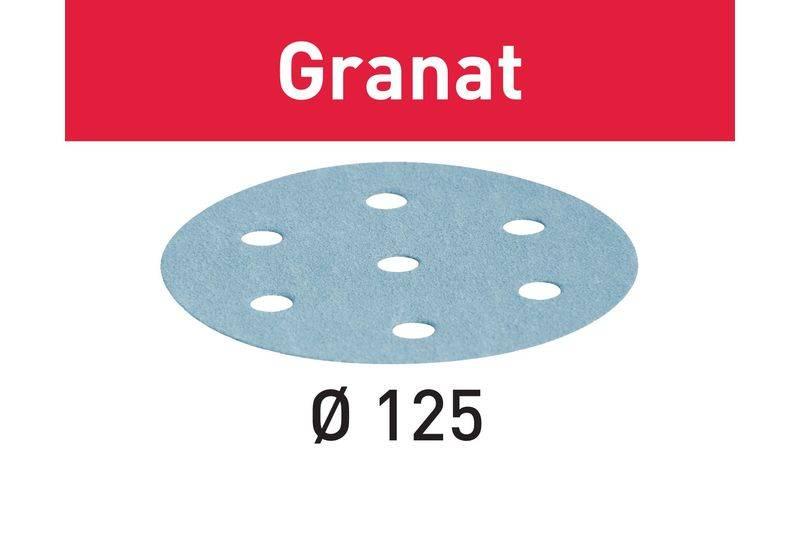 Festool Festool sandpaper       STF D125/8 P  80 GR 50X