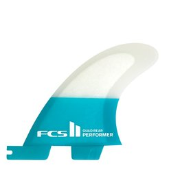 FCS FCS II Performer PC Small Quad Rear Retail Fins