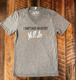 Southern Made Tees Gray Accent TN Tee