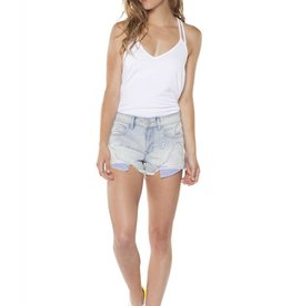 Dex Bleached Stripe Short