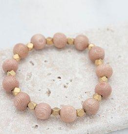 Stone + Stick Essentials 10mm Stretch Bead Bracelet