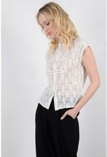 Molly Bracken White Lace Blouse