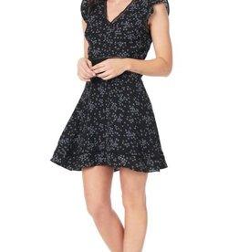Cupcakes &Cashmere Black Floral Dress