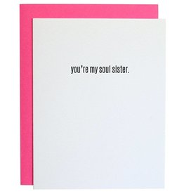 """Chez Gagne """"You're My Soul Sister"""" Card"""