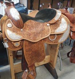 """Circle Y Show Saddle 16"""" Seat Used"""