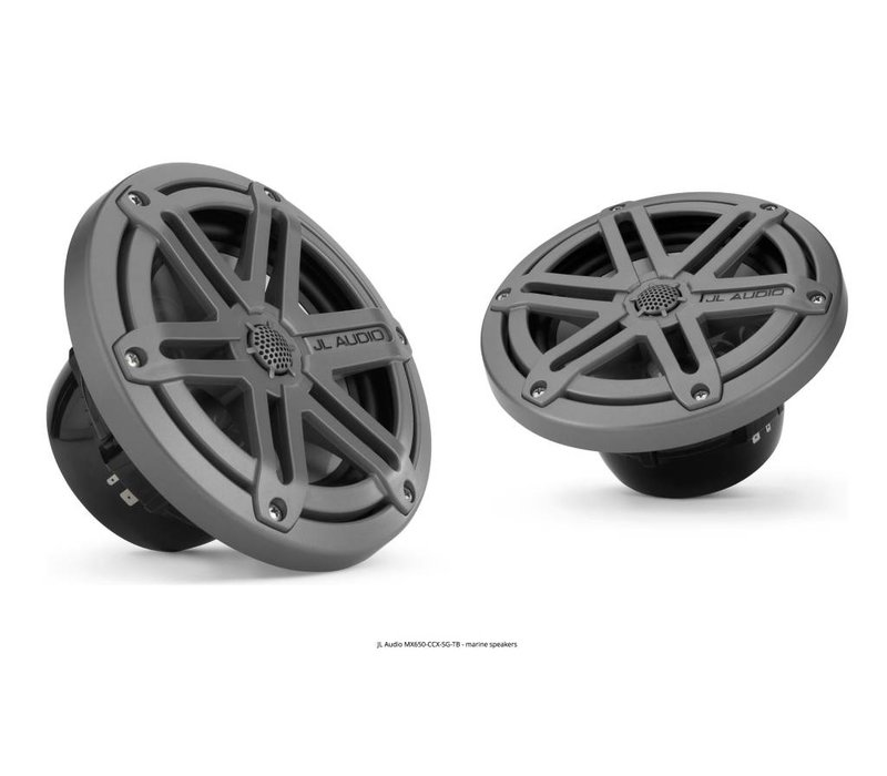 JL AUDIO MX650-CCX-SG-TB SPEAKERS 6.5""