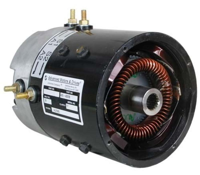 SERIES ADVANCE SPED UP MOTOR
