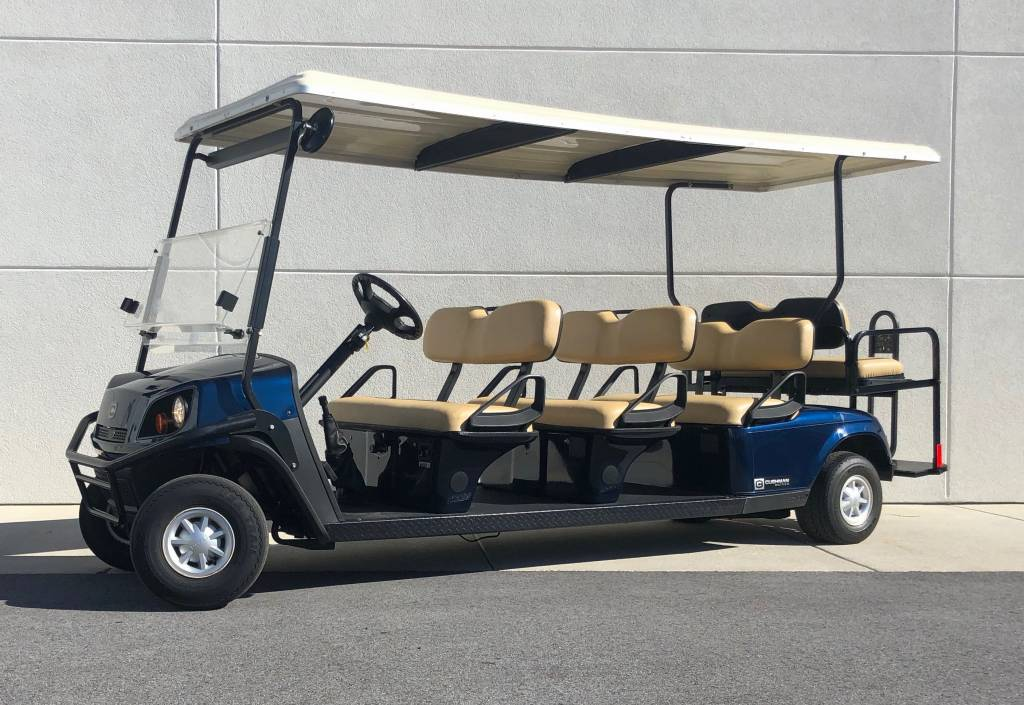 2013 CUSHMAN SHUTTLE 8-G (PATRIOT BLUE)