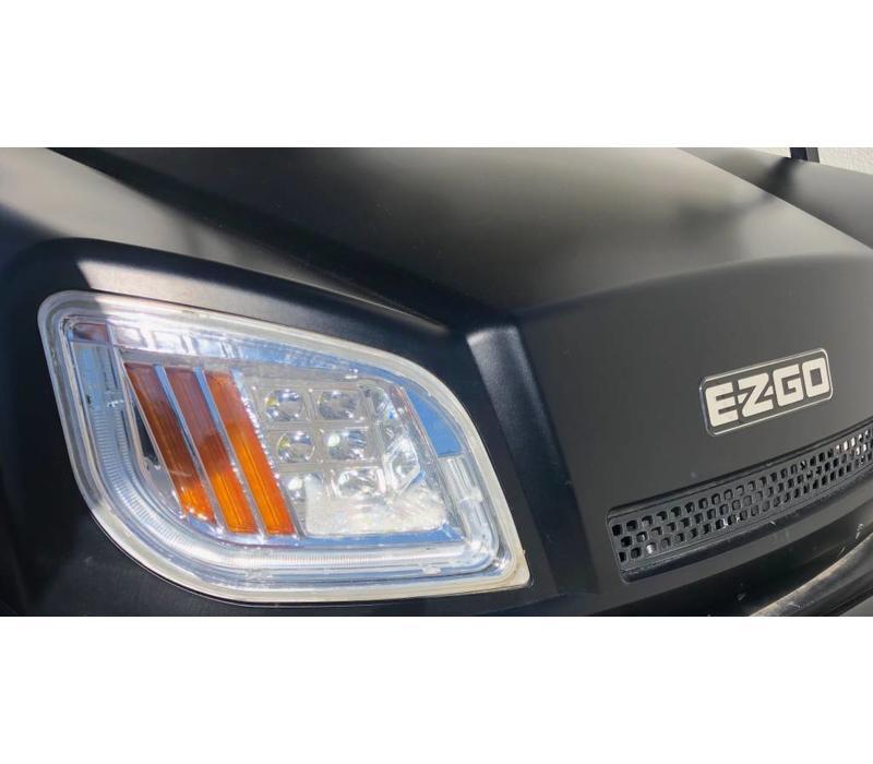2018 E-Z-GO EXPRESS S4-G (MATTE BLACK)