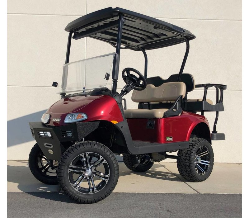 2019 E-Z-GO RXV ELITE 3.0 (Inferno Red)
