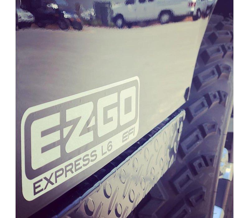 2019 E-Z-GO EXPRESS L6-G EFI (Black)