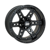 "NIVEL 14"" DOMINATOR MATTE BLK- STEEL BELTED RADIALS- SET OF 4"