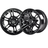"NIVEL 14"" BLACK MIRAGE WHEEL ONLY"