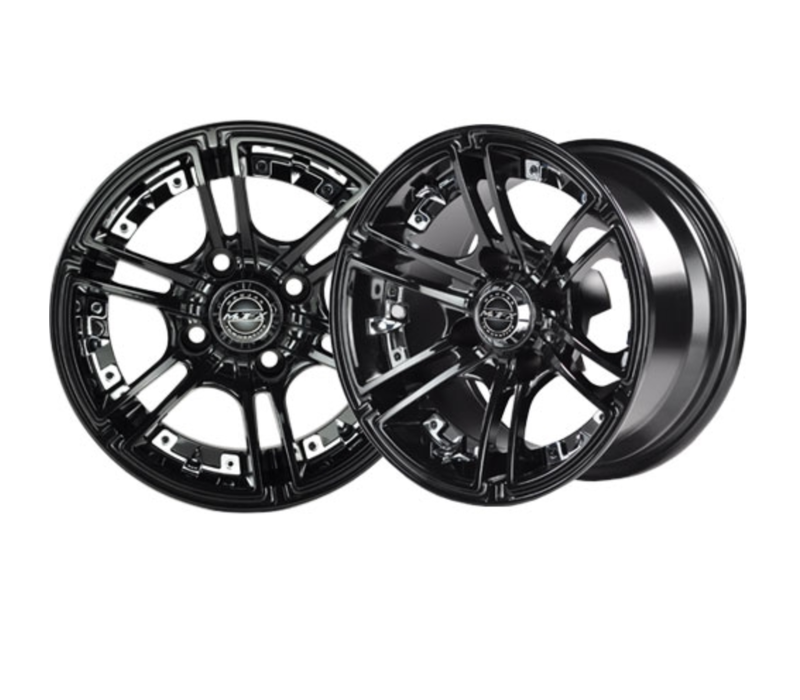 "14"" BLACK MIRAGE WHEEL ONLY"
