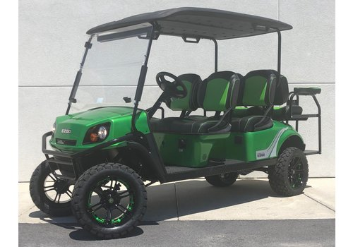 E-Z-GO 2019 E-Z-GO EXPRESS L6-E 72V (MONSTER GREEN)