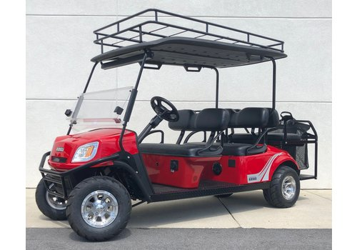 E-Z-GO 2019 E-Z-GO EXPRESS S6 72V (Flame Red)