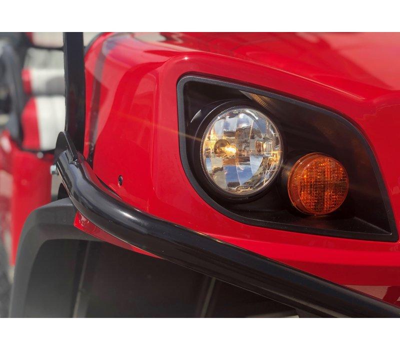 2019 E-Z-GO EXPRESS S4-G EFI (Flame Red)