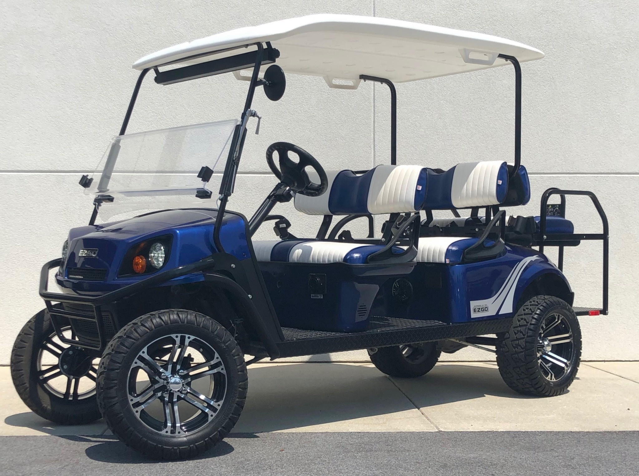 Street Legal E-Z-GO Golf Carts  Gas and Electric powered