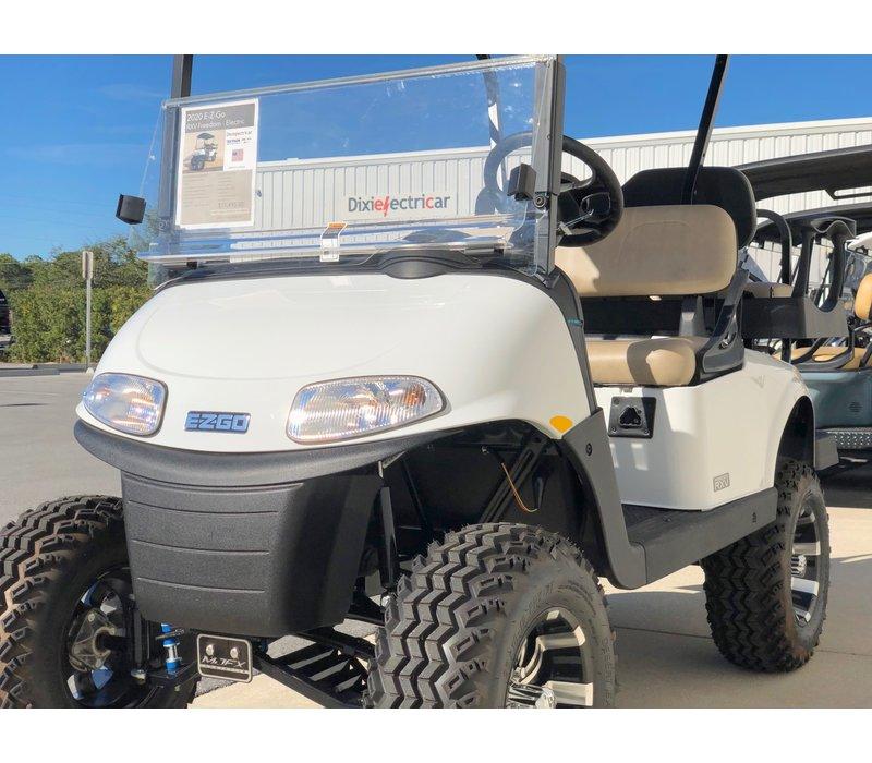 2020 E-Z-GO RXV-E LIFTED (BRIGHT WHITE)