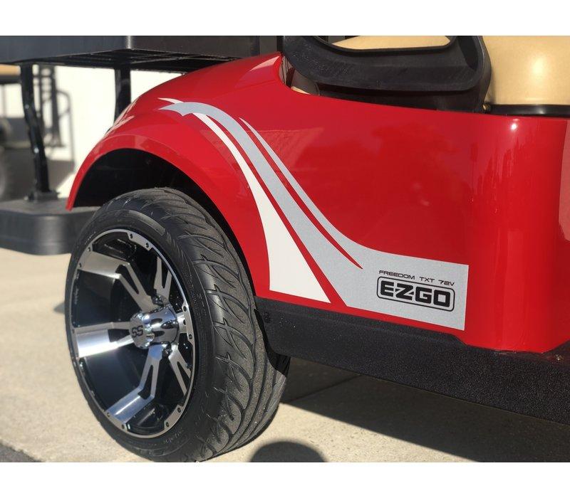2020 E-Z-GO TXT 72V (FLAME RED)