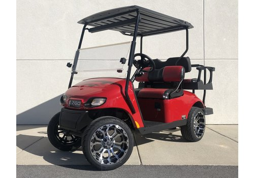 "E-Z-GO 2020 E-Z-GO TXT-G EFI 2"" LIFT (FLAME RED)"
