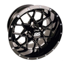 "14"" VORTEX BLK- STEEL BELTED RADIAL- SET OF 4"