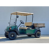 CUSHMAN 2013 CUSHMAN HAULER 1200-G (GREEN) (WOOD BED AND TOOL BOX)