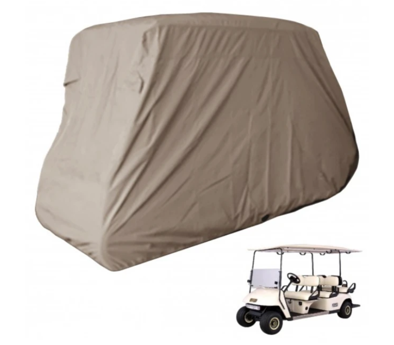 """6 PASSENGER STORAGE COVER 120"""" (TAUPE)"""
