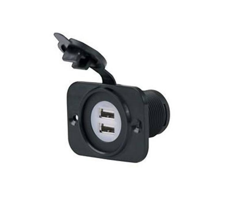 12V DUAL USB CHARGER RECEPTACLE