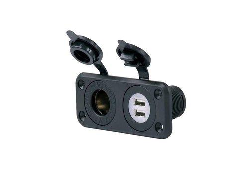 E-Z-GO DUAL USB PORT / 12V OUTLET COMBO