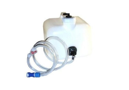 TROJAN BATTERY WATERING SYSTEM 2.5 GALLON GRAVITY FEED TANK FO...