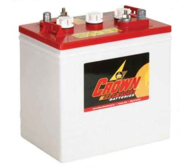 CR235 6 VOLT BATTERY CROWN 125AMP HR