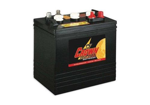 CROWN CR205 6 VOLT BATTERY CROWN 105AMP HR