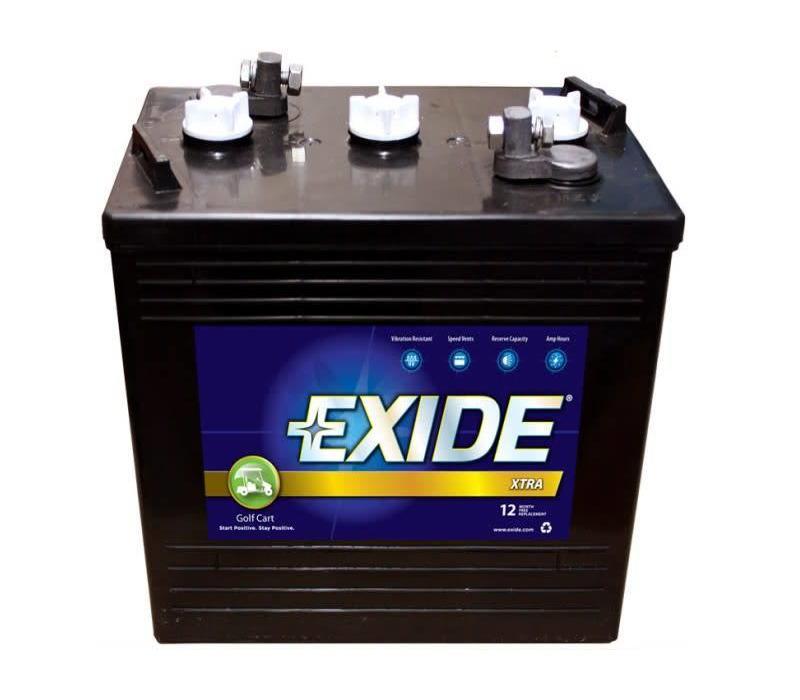 GC110 6 VOLT BATTERY EXIDE GC-110 110AMP HR
