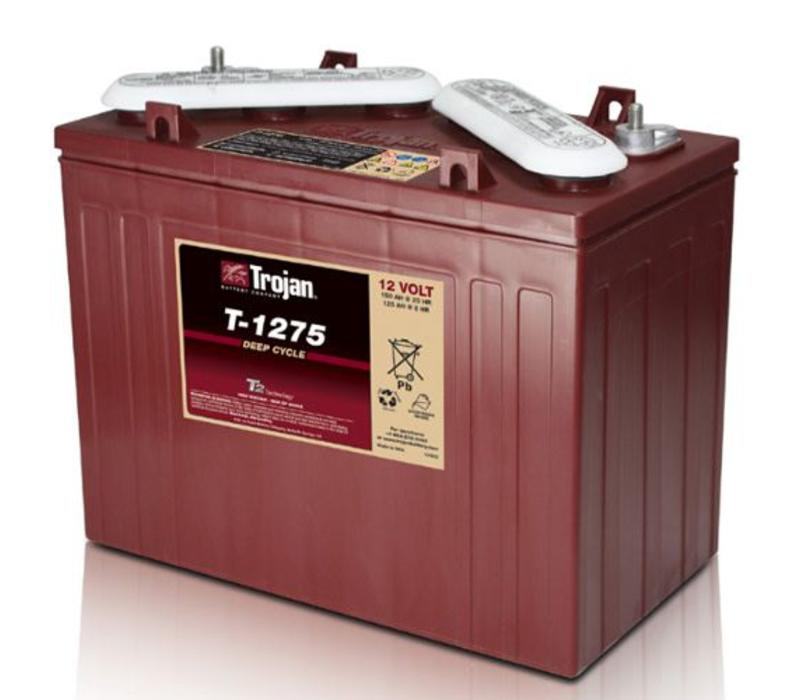 T1275 TROJAN 12 VOLT BATTERY: 102AMP HOUR