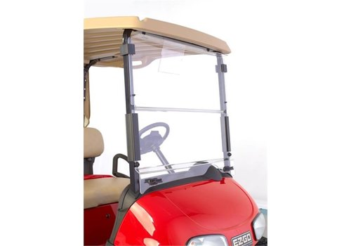 E-Z-GO WINDSHIELD EZGO RXV HINGED CLEAR UTD
