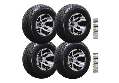 E-Z-GO 10 IN BLITTZ BCKLSH TIRE & WHEELS PKG