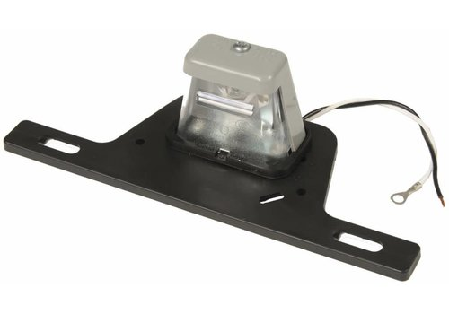 STENTEN'S GOLF CART ACC. LICENSE PLATE BRACKET W/ LIGHTED TAG LAMP