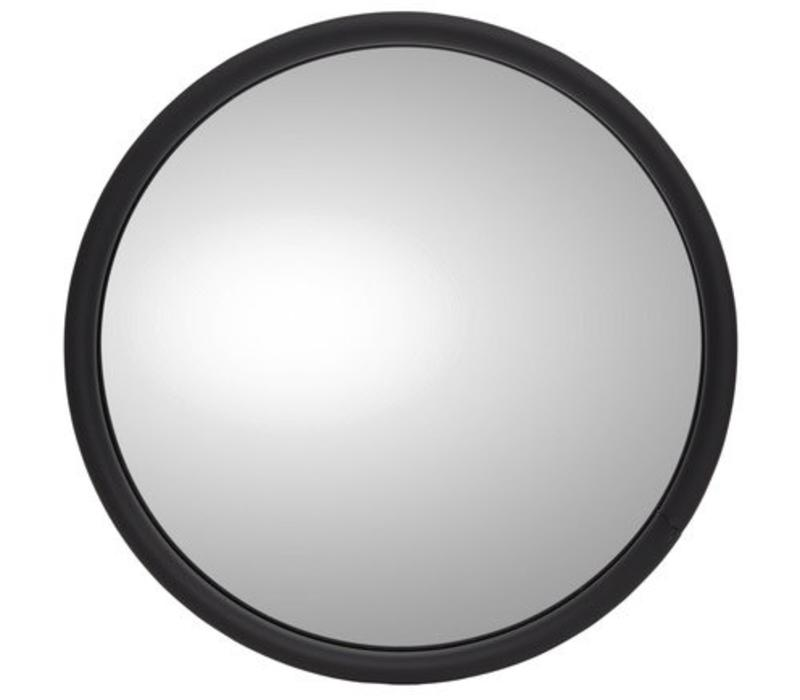 "EXTERIOR MIRROR 6"" ROUND WITH LOGO RIGHT"