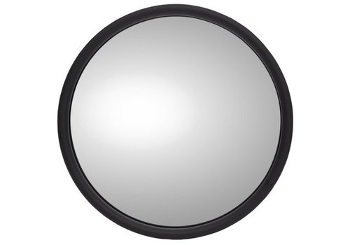 "Maverick Advantage EXTERIOR MIRROR ROUND 6"" WITH LOGO LEFT"