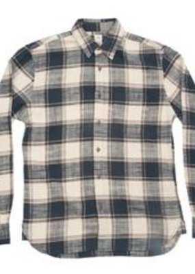 Kato KATO' Slim French Long Sleeve Vintage Plaid