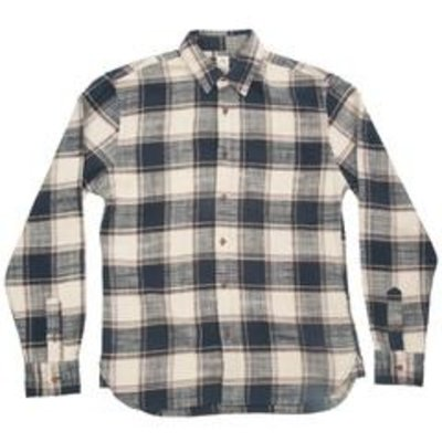 Kato Slim French Long Sleeve Vintage Plaid