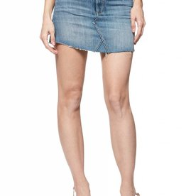 Paige Denim Alethea Frayed Skirt