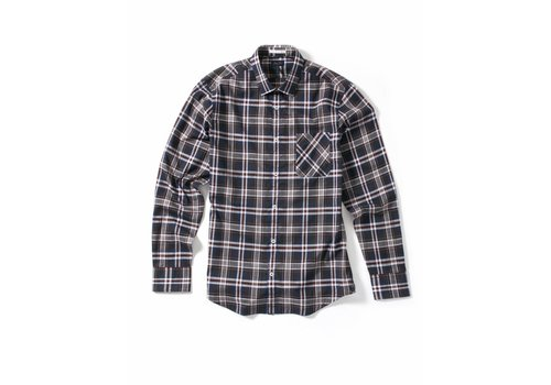Good Man Long Sleeve Point Collar