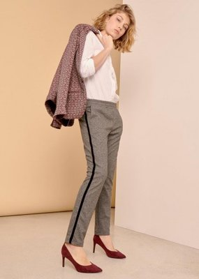Reiko Street Trousers Elvin Fancy _Chevron