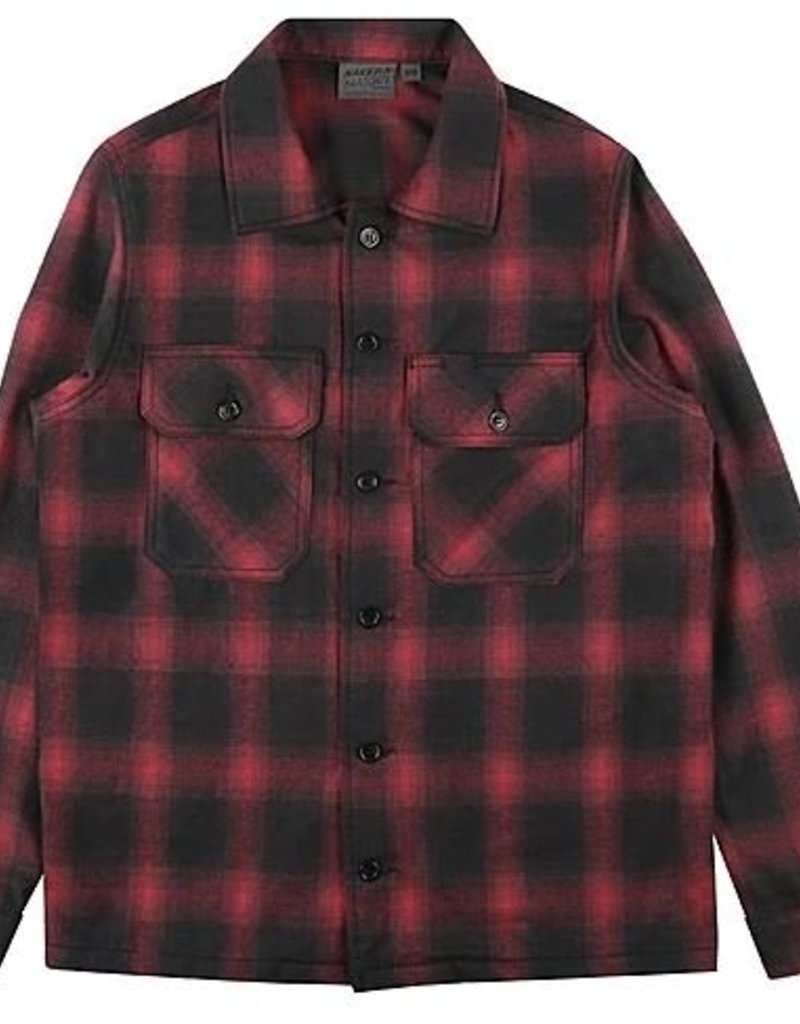 Naked & Famous Lumber Jack Red Flannel